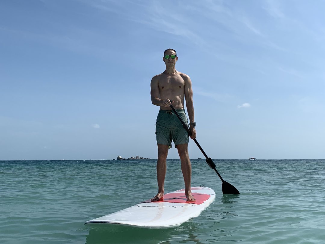 Niall Westley Island Paddle Co Founder