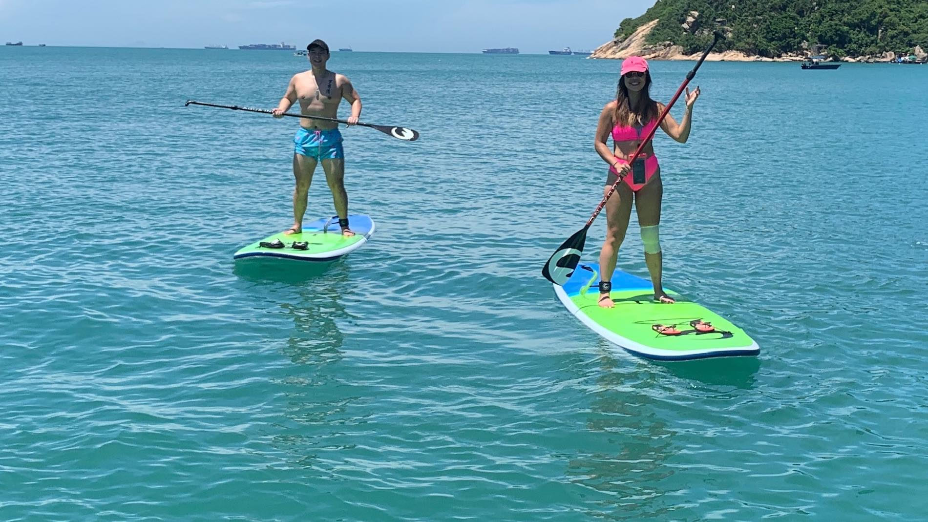 Stand Up Paddle Lesson in Stanley Hong Kong